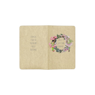 Mindfulness Gift Fairies Personalized Gratitude Pocket Moleskine Notebook