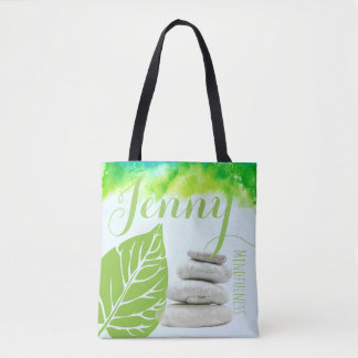 Mindfulness Gift Stones Pile Buddhism Named Tote