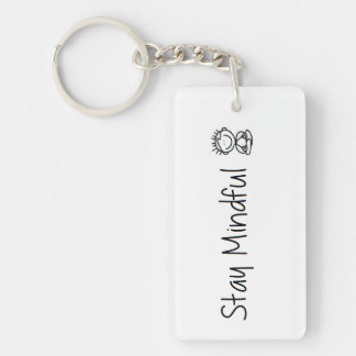 Mindfulness keychain