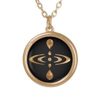 Mindfulness Round Pendant Necklace