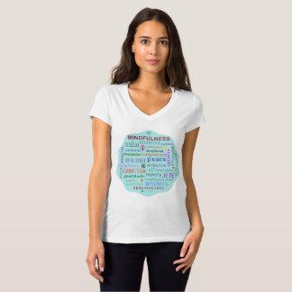 Mindfulness Word Jumble Tshirt