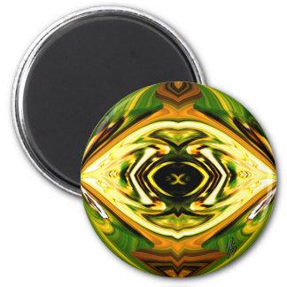 Mind's Eye 6 Cm Round Magnet