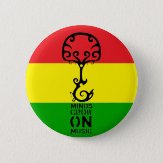 Minds Grow on Music 6 Cm Round Badge