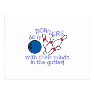 Minds In The Gutter Postcard