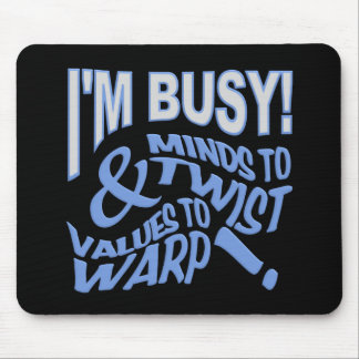 Minds to Twist mousepad