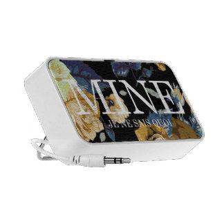 MINE - JE NE SAIS QUOI - Floral Print Logo Speaker