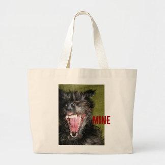 Mine Jumbo Tote Bag