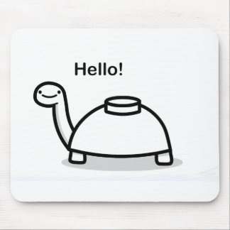 Mine Turtle Mouse Pad