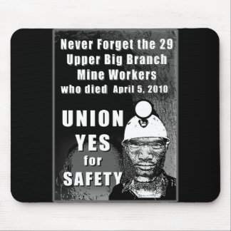 Mine Workers Mousepad