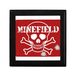 Minefield Sign Gift Box