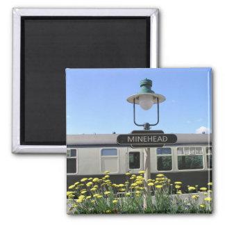 Minehead station, Somerset Fridge Magnet