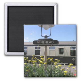 Minehead station, Somerset Magnets