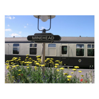 Minehead station, Somerset Post Cards