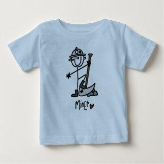 Miner Stick Figure Baby T-Shirt