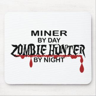 Miner Zombie Hunter Mousepads