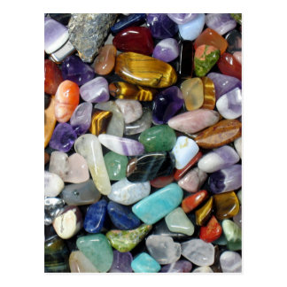 Mineral Stones Postcard