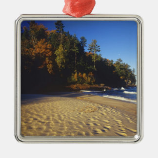 Miners Beach at Pictured Rocks National Christmas Ornament