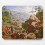 Miners in the Sierras - 1851/1852 Mousepads