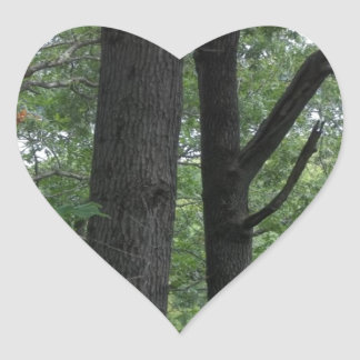Mines of Spain Trees with Mississippi River Heart Sticker
