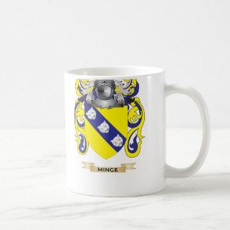 Minge Coat of Arms Family Crest Mug