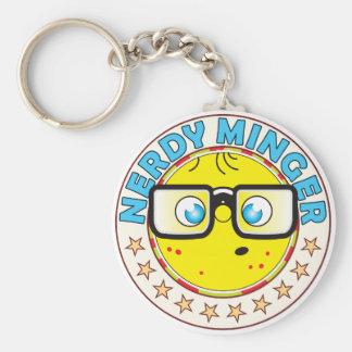 Minger Nerdy Key Ring