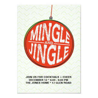 Mingle + Jingle Card