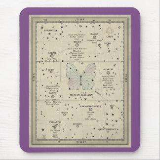 MING'S GALAXY MAP MOUSEPAD