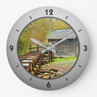 Mingus Mill, Great Smoky Mountains Picture Clocks