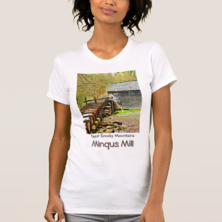 Mingus Mill, Great Smoky Mountains T Shirts
