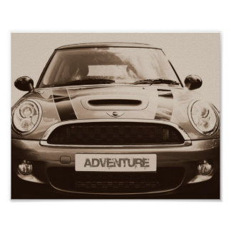 Mini adventure poster