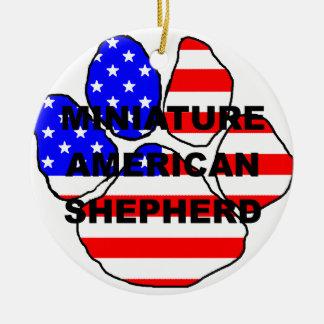 mini am shep name usa-flag paw.png christmas ornament
