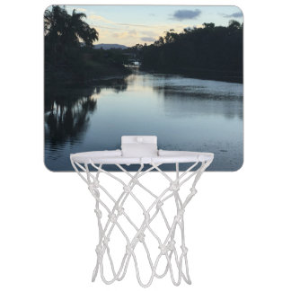 Mini Basketball Goal with a view. Mini Basketball Hoop