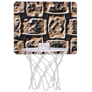 Mini Basketball Hoop - Brick Effect