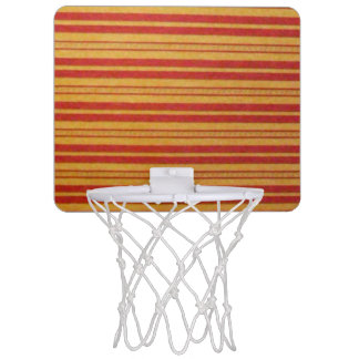 Mini Basketball Hoop - Faded Stripes - Horizontal