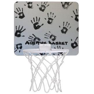 Mini Basketball Hoop,hands printed Mini Basketball Hoop