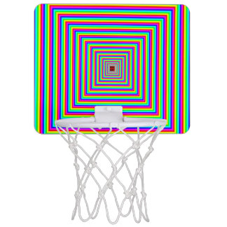 Mini Basketball Hoop - Optical Illusion.
