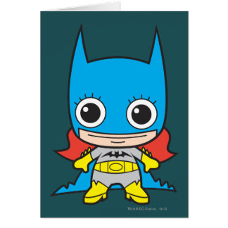 Mini Batgirl Card
