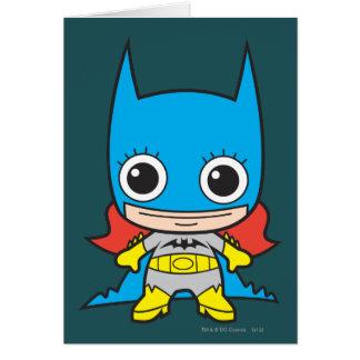 Mini Batgirl Greeting Card