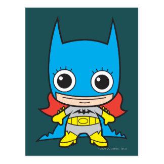 Mini Batgirl Postcard