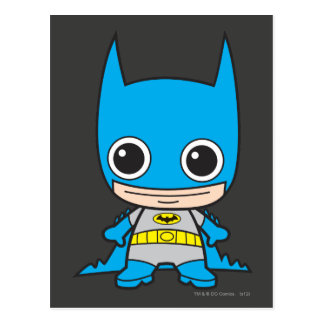 Mini Batman Postcard