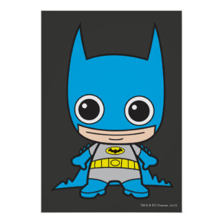 Mini Batman Poster