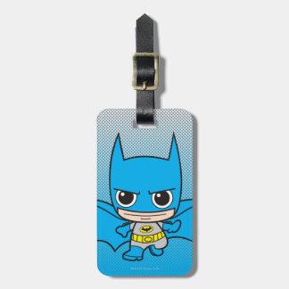 Mini Batman Running Luggage Tag
