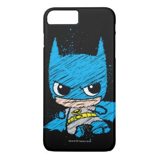 Mini Batman Sketch iPhone 8 Plus/7 Plus Case
