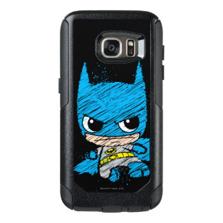 Mini Batman Sketch OtterBox Samsung Galaxy S7 Case