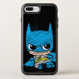 Mini Batman Sketch OtterBox Symmetry iPhone 7 Plus Case