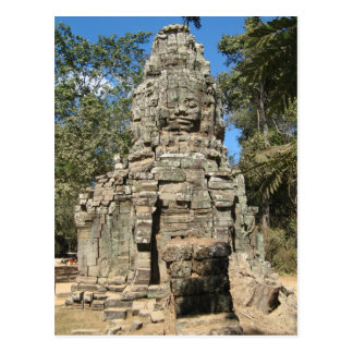 Mini Bayon ... Ta Prohm, Angkor Wat, Cambodia Postcards