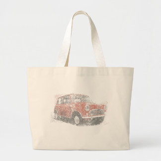 Mini (Biro) Large Tote Bag