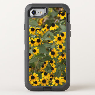 Mini Black Eyed Susan Flowers OtterBox Defender iPhone 7 Case