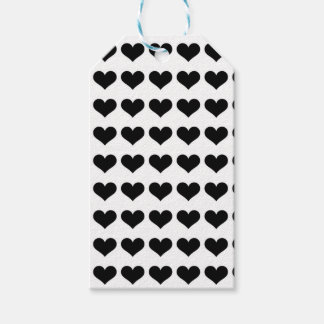 Mini Black Hearts | Tags