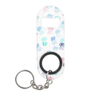 Mini bottle opener with jellyfishes